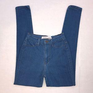 Vibrant Highwaisted Skinny Jeans